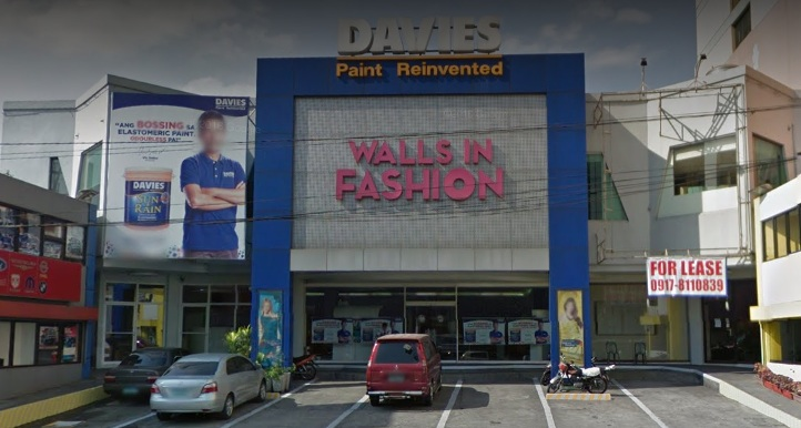 Davies Paint Wall Fashion
