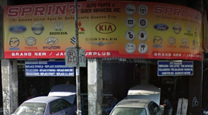 Sprint Auto Parts & Quick Services