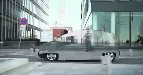 Mercedes-Benz's real invisible car — something to look out for!