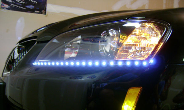 Automotive Fashion Disasters We Would Like to See Disappear (1st of a series) — LED lighting strips