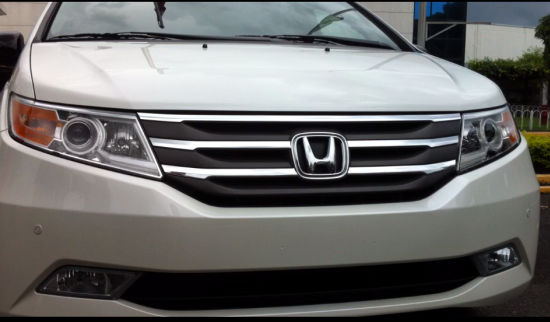 Honda: launching the new Philippine spec Odyssey